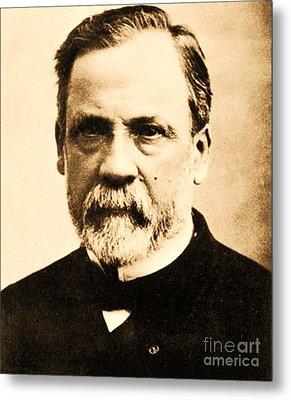 Louis Pasteur Metal Print by Pg Reproductions