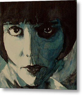 Louise Brooks Metal Print by Paul Lovering