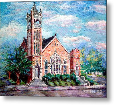 Louisiana Church Metal Print