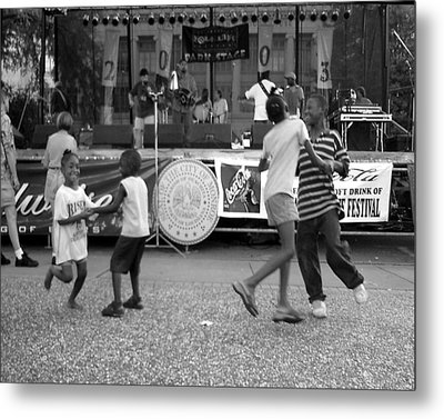 Louisiana Folklife Festival  Metal Print