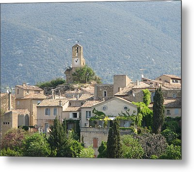 Metal Print featuring the photograph Lourmarin In Provence by Carla Parris