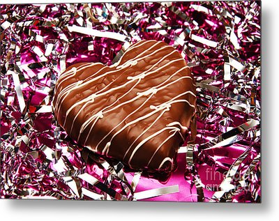 Love And All That Glitters Metal Print by Andee Design