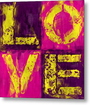 Love Metal Print by David G Paul