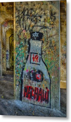 Love Graffiti Metal Print by Susan Candelario