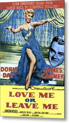 Love Me Or Leave Me, From Left Doris Metal Print by Everett