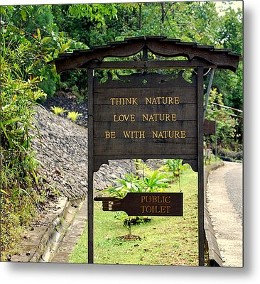 Metal Print featuring the photograph Love Nature by Lynn Hughes