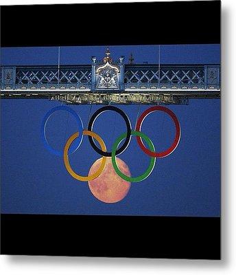 Love The #olympics #london2012 Metal Print by Cyril Attias