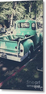 Love The Truck Metal Print by Awildrose Photography