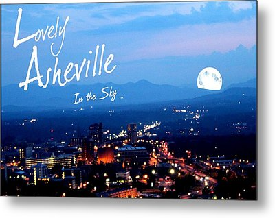 Lovely Asheville Metal Print by Ray Mapp