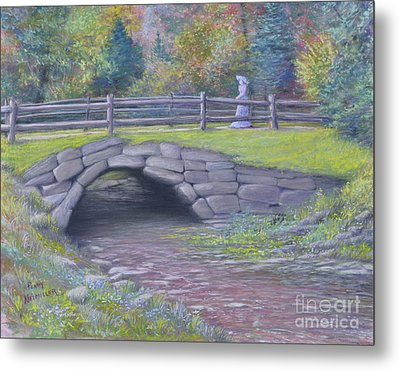 Lovely Day At Idewild Park Metal Print by Penny Neimiller