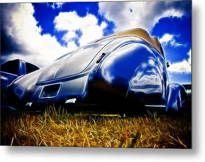 Low Ford Roadster Metal Print by Phil 'motography' Clark