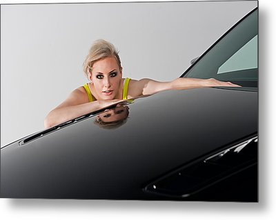 Metal Print featuring the photograph Low Reflection by Jim Boardman