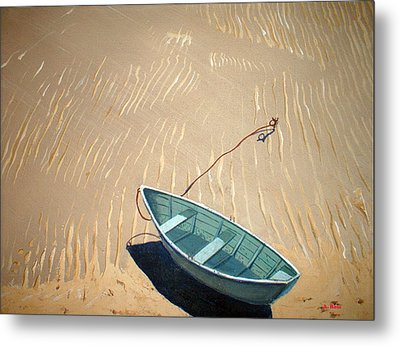 Low Tide Metal Print by Anthony Ross