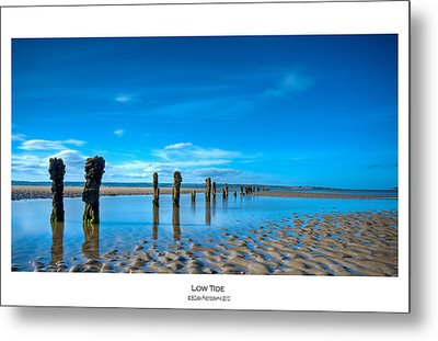 Low Tide Metal Print by Beverly Cash