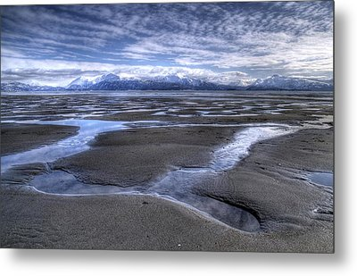 Metal Print featuring the photograph Low Tide by Michele Cornelius