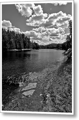 Lower Madawaska River Metal Print by Yves Pelletier