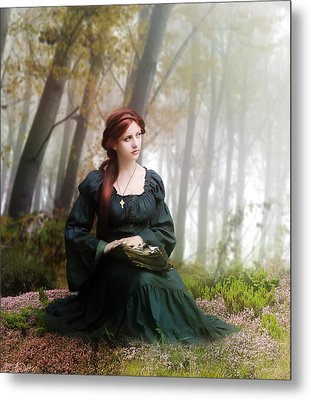 Lucid Contemplation Metal Print by Mary Hood