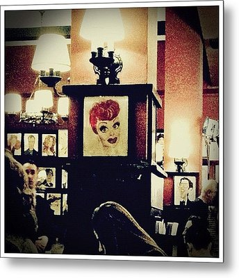 Lucille Ball Metal Print by Natasha Marco