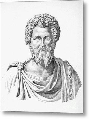 Lucius Septimius Severus Metal Print by Granger