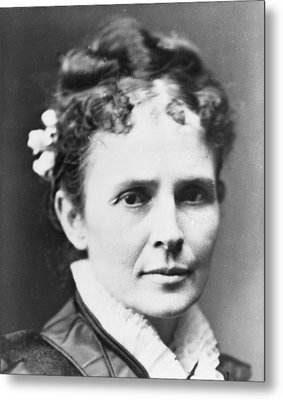 Lucretia Garfield 1832-1918, First Lady Metal Print by Everett