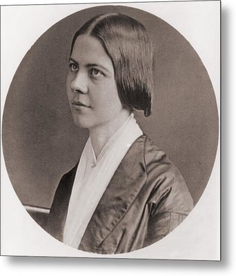 Lucy Stone, 1818-1893, American Metal Print by Everett