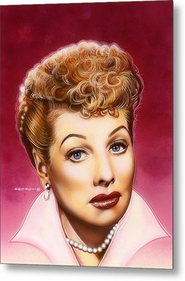 Lucy Metal Print by Timothy Scoggins