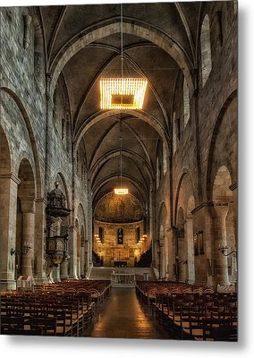 Lund Cathedral Metal Print by Wade Aiken