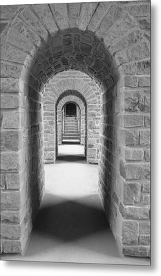 Luxembourg Passages Metal Print
