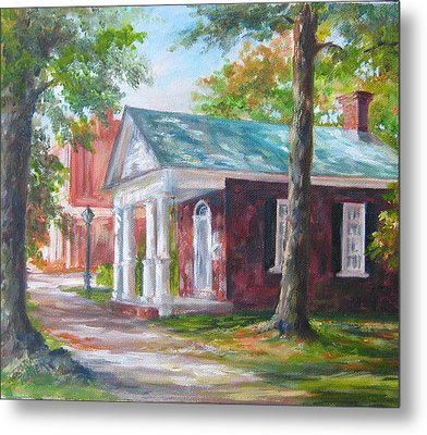 Metal Print featuring the painting Lyceum by Gloria Turner
