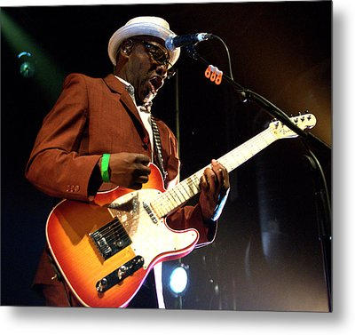 Lynval Golding-the Specials Metal Print by Jeff Ross