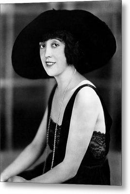 Mabel Normand, 1921 Metal Print by Everett
