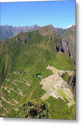 Machu Picchu Metal Print by Cute Kitten Images