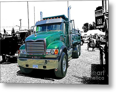 Mack Abstract Metal Print by Randy Harris