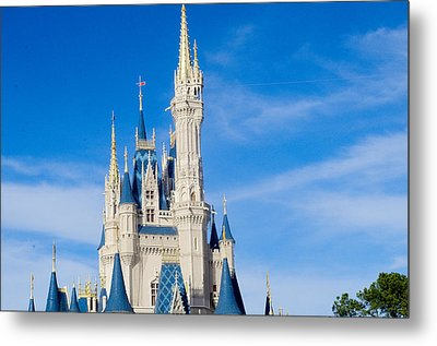 Magic Kingdom Metal Print