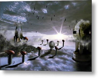 Magic Shrooms Metal Print by Nathan Wright