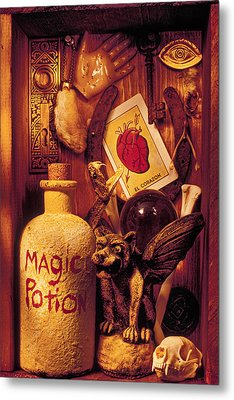 Magic Things Metal Print