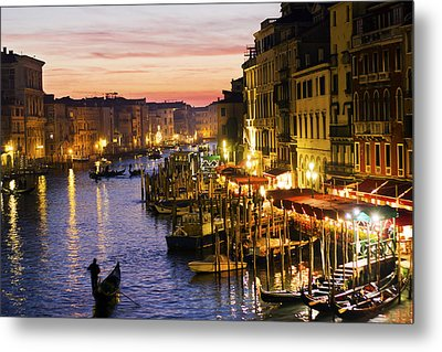 Magic Venice Metal Print by Francesco Riccardo  Iacomino