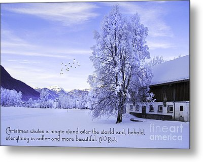 Magic Wand Metal Print by Sabine Jacobs