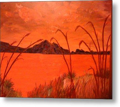 Magnetic Island Sunset Metal Print