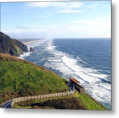 Magnificent Oregon Coast Metal Print by Will Borden