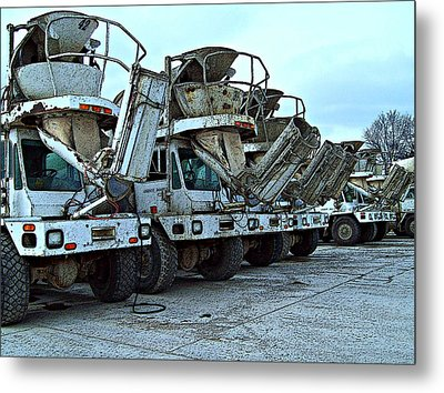 Mahouts Day Off Metal Print by MJ Olsen