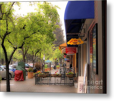 Metal Print featuring the photograph Main Street by Leslie Hunziker
