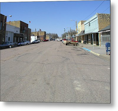 Metal Print featuring the photograph Main Street by Steve Sperry