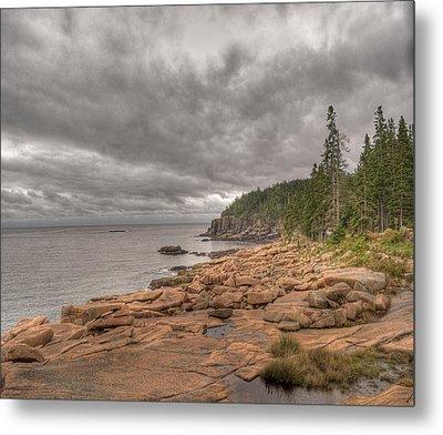 Maine Coastline. Acadia National Park Metal Print by Juli Scalzi