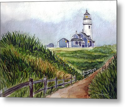 Maine Light Metal Print
