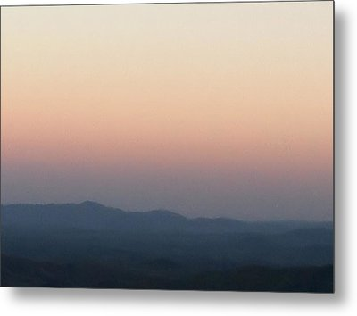 Metal Print featuring the photograph Majestic Blue Ridge Mountains by Elizabeth Coats