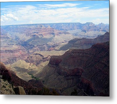 Majestic Grand Canyon Metal Print by Mitch Hino