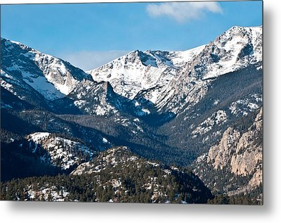 Metal Print featuring the photograph Majestic Rockies by Colleen Coccia