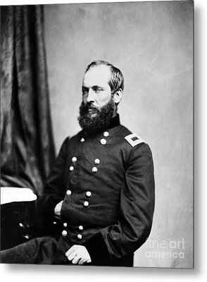 Major General Garfield, 20th American Metal Print by Chicago Historical Society