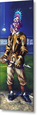 Major League Gladiator Metal Print by Patrick Anthony Pierson